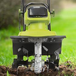 Sun Joe Cordless Garden Tiller/Cultivator 12-Inch 4 Amp Core Tool Only