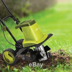 Sun Joe Electric Garden Tiller/Cultivator 12-Inch 8 Amp