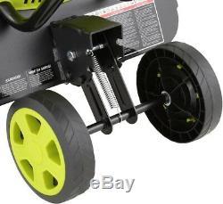 Sun Joe Electric Garden Tiller Cultivator 16 12 AMP 3-Position Wheel