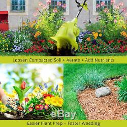 Sun Joe TJ599E Electric Garden Cultivator 6.3-Inch 2.5 Amp Green