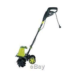 Sun Joe TJ603E 16-Inch 12-Amp Electric Tiller and Cultivator Green