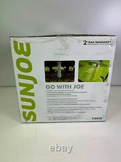 Sun Joe TJ603E 16in. 12Amp Electric Tiller and Cultivator Green