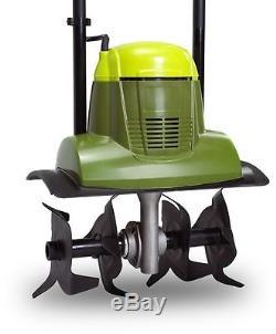 Sun Joe Tiller 6.5 Amp Electric Tiller/Cultivator Heavy-Duty Garden Tool