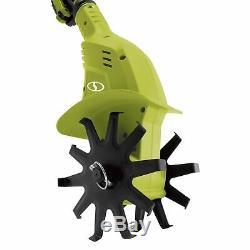 Sun Joe iON+ 24V 12 Electric Cordless Garden Tiller/Cultivator Kit