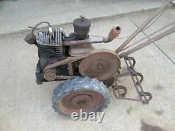 Super Tuffy Planet Junior Briggs 4 Hand Kick Start Motor Tiller Cultivator Farm