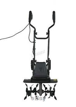 SwitZer Electric Tiller Rotovator Cultivator Garden Soil Rotavator TE02 1400W