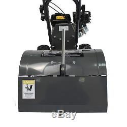 SwitZer Heavy Duty Petrol Rotovator Tiller Cultivator Rotavator 6.5HP 196cc