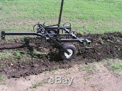 TINE CULTIVATOR 4 Ft Cut Width Tow Behind ATV UTV & Compact Tractor
