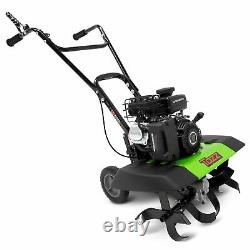 Tazz 35310 2-in-1 Front Tine Tiller/Cultivator, 79cc 4-Cycle Viper Engine, Ge