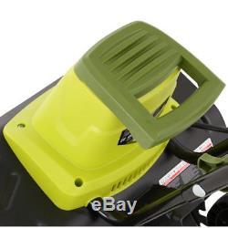 Tiller Cultivator 13.5 Amp 16 Electric 5.5 Wheels 3 Position Wheel Adjustment