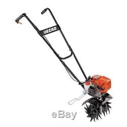 Tiller Cultivator 9in 21.2cc Gas Powered Engine Front Tine Forward Rotating CARB