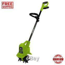 Tiller Cultivator Cordless 20 Volt Electric Garden Tools With Battery Charger