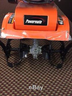 Tiller Cultivator Power Tool Outdoor Powermate 11'' 150cc Gas Front Tine Yard