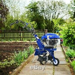 Tiller Cultivator Rotovator Garden Weeder Plough POWERFUL 139cc Petrol Garden