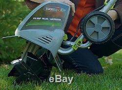Tiller Electric Cultivator Garden Yard Lawn Corded Machine Field Rototiller Soil