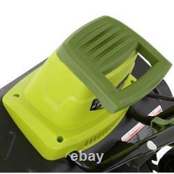 Tiller Joe 16in Garden Tiller Cultivator 12AMP Electric Greener Clean Dirt Slice