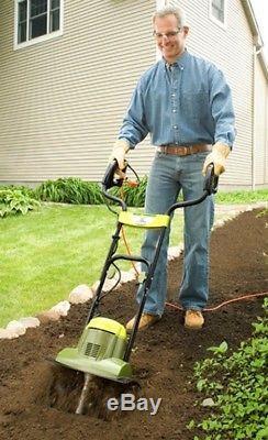 Tiller Joe 6.5 Amp Electric Garden Tiller/Cultivator