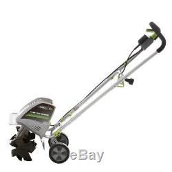 Tiller Rototiller Cultivator Electric Garden Yard Raised Bed Front Tine Tool New