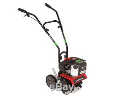 Tillers And Cultivators Small Rototiller Garden Gas Powered Soil Aerator 10 Dig