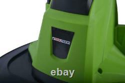 Tooltronix Electric Garden Tiller Rotavator Cultivator Soil Turn 750w Rotivator