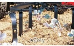Tow-Behind Cultivator Sleeve Hitch Adjustable Riding Lawn Garden Tractor 18-40in