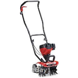 Troy-Bilt 12'' Gas Cultivator Soil Garden Lawn 4-Cycle JumpStart Capabilities