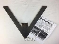 Troy Bilt V-Sweep Sweeper Cultivator Plow for Horse Tiller