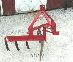 Used 1 row cultivator/ 6 shanks Gardens (FREE 1000 MILE DELIVERY FROM KENTUCKY)
