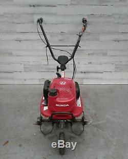 Used Honda F220 21 Inch 4-Cycle Standard Rotating Mid-Tine Roto Garden Tiller
