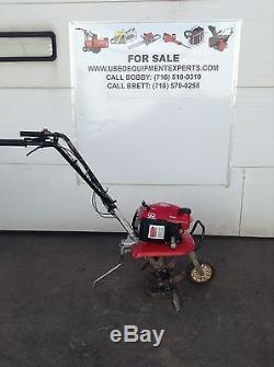 Used Honda F220 21 Roto Tiller Lawn Garden Cultivator Mid Tine Gas Rototiller