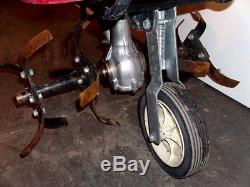 Used Honda F220 Small Frame Lawn Cultivator Mid Tine Roto Tiller Free Shipping