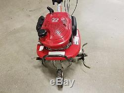 Used Honda F220 Small Frame Lawn Cultivator Mid Tine Roto Tiller Mini