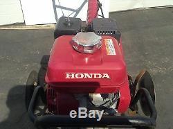 Used Honda FC600 Tiller Commercial Power Garden Cultivator Rototiller Electric