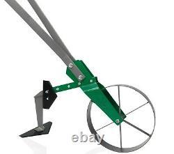 Varomorus High Wheel Cultivator, Hoe, Modular Plow Garden Tool for Gardening
