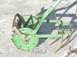 Vintage Antique Garden Hand Push Cultivator Tiller Weed Plow Vegetable Claw roho