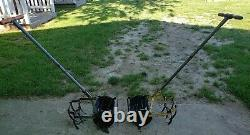 Vintage Antique ROHO Garden Hand Push Cultivator Tiller Weed Plow Vegetable Claw