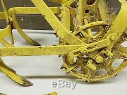 Vintage Antique Rotto Gardener Cultivator Tiller Plow Weeder (e43)
