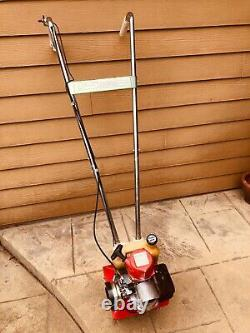 Vintage Mantis 20 2 Cycle Gas powered tiller 1986 in great running condition