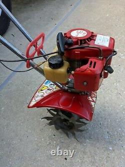 Vintage Mantis 2 Cycle Gas powered tiller # 7222 03 03 in running condition