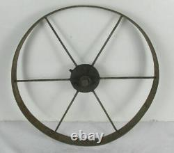 Vintage Planet Jr cultivator single wheel garden tool farm with plow no handles