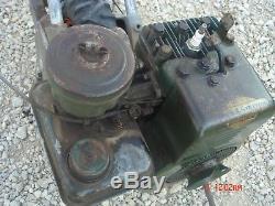 Vintage Rare Lodge Shipley Tiller Garden Cultivator Briggs Stratton 6B S Engine