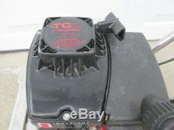 Working ATLAS Gas 11 Roto Tiller Lawn Garden Cultivator Gas Rototiller 2-Cycle