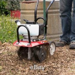 10. Gaz 43cc 2 Temps Cultivateur Avec Jardin Compatible Carb Nouveau Mini Barre