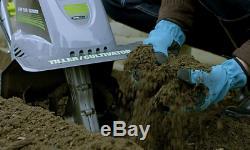 11 ' ' Electric Garden Tiller Cultivateur 8.5a Mini Courette Puissance Portable Pratique