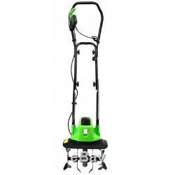 1400w Électrique Tiller Cultivator Rotavator Jardin Pelouse Machine 320mm