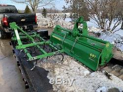 2012 John Deere / Frontier Pc1072 3-point Pelouse + Jardin / Paysage 6' Cultivateur