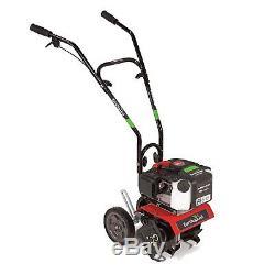 43cc 2 Cycle Mini Rototiller Gaz Cultivateur Jardin Rotating Désherbage Fleur Tine