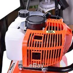 52cc 2strok Sol Gas Mini Tiller Cultivateur Jardin Des Plantes Tilling Outil 6500rpm