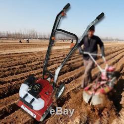 52cc 2stroke 2 HP De Gaz De Sol Mini-cultivateur De Cultivateur De Planteuse