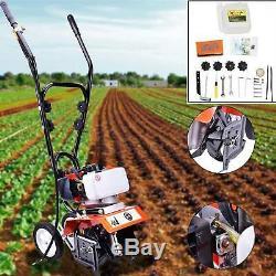 52cc 6500rpm Mini Barre Franche Cultivateur Sol Gas Ferme Jardin Des Plantes De Jardin Tilling Outil